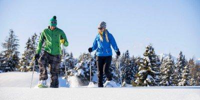 Schneeschuhwandern in Vals - Meilen für Genießer