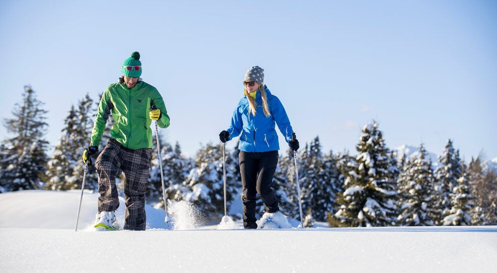Snowshoeing in Valles: Kilometres for hiking lovers