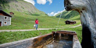 Sommerfrische in Vals