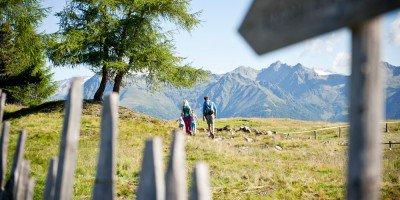 In Vals rufen die Berge! Machen Sie Wanderferien in Südtirol